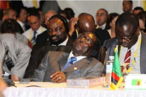 Sleeping President!!!
